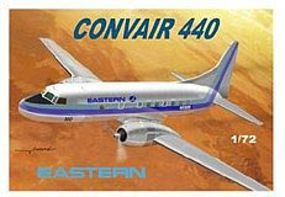 Mach2 Convair 440 Long Radar Nose Eastern Airliner Plastic Model Airplane Kit 1/72 Scale #56