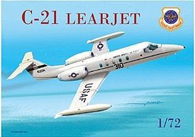 Mach2 C21 Learjet USAF Aircraft Plastic Model Airplane Kit 1/72 Scale #57