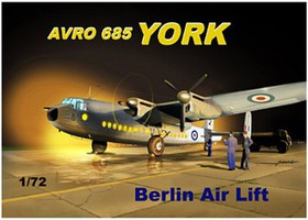 Mach2 1/72 Avro 685 York British Transport Aircraft Berlin Airlift