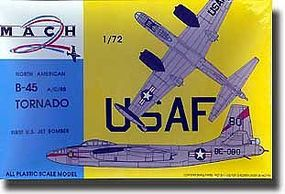 Mach2 Tornado B45 A/C/RB Aircraft Plastic Model Airplane Kit 1/72 Scale #8