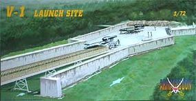 Mach2 WWII Armageddon V1 Rocket Launch Site Set Plastic Model Military Diorama Kit 1/72 #ar4