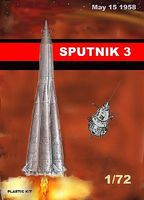 Mach2 Sputik 3 Soviet Satelite Space Program Plastic Model Kit 1/72 Scale #lo16