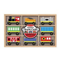MandD Wooden Train Car Set