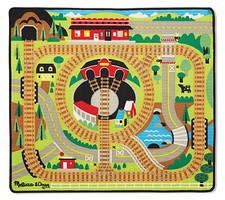 MandD Round the Rails Train Rug