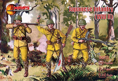 Mars 1/32 WWII Japanese Infantry (15)