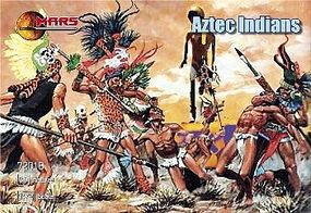 Mars Aztec Warriors (30) Plastic Model Cowboy and Indian 1/72 Scale #72018