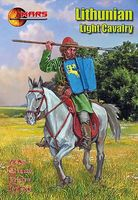 Mars 1st Half XV Century Lithuanian Light Cavalry Plastic Model Military Figure 1/72 #72056