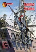 Mars Zombie (Skeleton) Pirates (48) Plastic Model Fantasy Figure 1/72 Scale #72070
