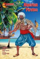 Mars Algerian Pirates (48) Plastic Model Pirate Figure 1/72 Scale #72072