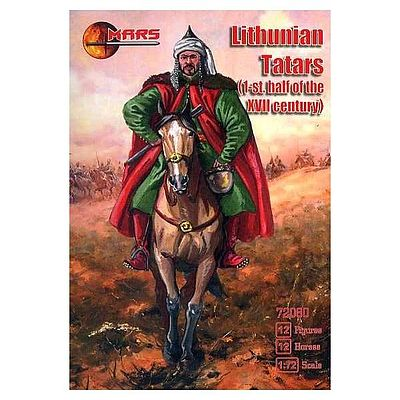 in 1:72 MARS 72058 Lithuanian Medium Cavarly 1st Half of the XV Century