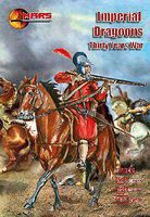 Mars Thirty Years War Imperial Dragoons (12) Plastic Model Military Figure 1/72 Scale #72096