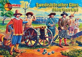 Mars 1/72 Thirty Years War Swedish Leather Guns