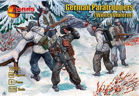 Mars 1/72 WWII German Paratroopers Winter Uniform (40)