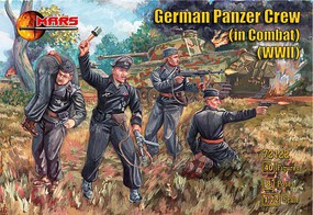Mars 1/72 WWII German Panzer Crew in Combat (40)