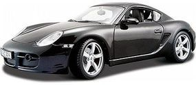 Maisto Porsche Cayman S (Black) Diecast Model Car 1/18 Scale #31122blk