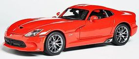Maisto 2013 SRT Viper GTS (Red) Diecast Model Car 1/18 Scale #31128red
