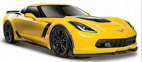 Maisto 1/24 2015 Corvette Z06 (Yellow)