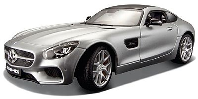 Maisto International 1/24 Mercedes Benz AMG GT (Silver)