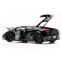 Maisto 2007 Lamborghini Gallardo Superleggera (Black) Diecast Model Car 1/18 Scale #31149blk