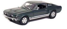 Maisto 1967 Ford Mustang GTA Fastback (Metallic Green) Diecast Model Car 1/18 Scale #31166grn