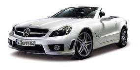 Maisto Mercedes Benz SL63 AMG Convertible (White) Diecast Model Car 1/18 Scale #31168wht