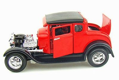 Maisto International 1929 Ford Model A (Red) -- Diecast Model Car -- 1/24 Scale -- #31201red