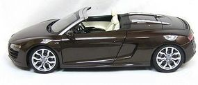 Maisto Audi R8 Spyder Convertible (Met. Brown) Diecast Model Car 1/24 Scale #31204brn