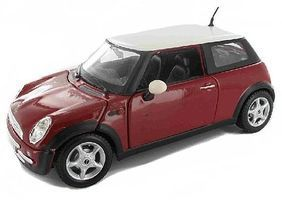 Maisto Mini Cooper (Red) Diecast Model Car 1/24 Scale #31219red
