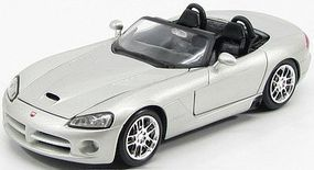 Maisto 2003 Dodge Viper SRT10 (Silver) Diecast Model Car 1/24 Scale #31232slv