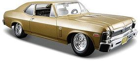 Maisto 1970 Chevy Nova SS Coupe (Met. Gold) Diecast Model Car 1/24 scale #31262gld