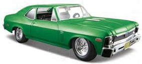 Maisto 1/24 1970 Chevy Nova SS Coupe (Met. Lime Green) (New Color)