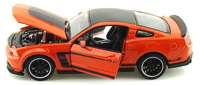 Maisto International Ford Mustang Boss 302 (Orange) -- Diecast Model Car -- 1/24 scale -- #31269org