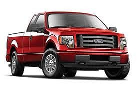 Maisto International 2010 Ford F150 Pickup Truck (Red) -- Diecast Model Truck -- 1/27 Scale -- #31270red