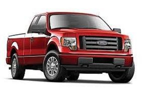 Maisto 2010 Ford F150 Pickup Truck (Red) Diecast Model Truck 1/27 Scale #31270red