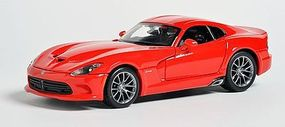 Maisto 2013 SRT Viper GTS (Red) Diecast Model Car 1/24 scale #31271red