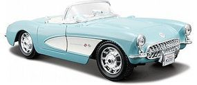Maisto 1957 Corvette Convertible (Turquoise) Diecast Model Car 1/24 scale #31275tur