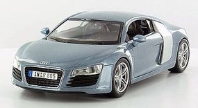 Maisto 2008 Audi R8 (Met. Blue) Diecast Model Car 1/24 scale #31281blu