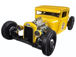 Maisto 1/24 1929 Ford Model A Custom (Yellow)