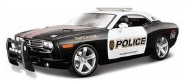 Maisto 2006 Dodge Challenger Concept Police Car (Black) Diecast Model Car 1/18 scale #31365blk