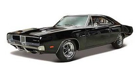 Maisto 1/18 1969 Dodge Charger (Met. Black)
