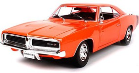 Maisto 1/18 1969 Dodge Charger (Orange)