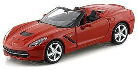 Maisto 2014 Corvette Stingray Convertible (Red) Diecast Model Car 1/24 scale #31501red