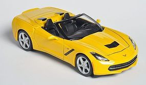 Maisto 2014 Corvette Stingray Convertible (Yellow) Diecast Model Car 1/24 scale #31501ylw