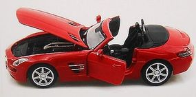 Maisto 2012 Mercedes Benz SL63 AMG Convertible (Red) Diecast Model Car 1/24 scale #31503red