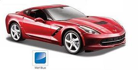 Maisto 2014 Corvette Stingray Coupe (Met. Blue) Diecast Model Car 1/24 scale #31505blu