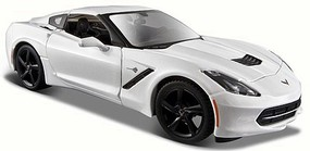 Maisto 1/24 2014 Corvette Stingray Coupe (White)