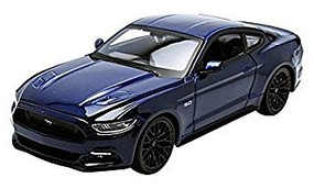 Maisto 2015 Ford Mustang GT (Met. Blue) Diecast Model Car 1/24 Scale #31508blu