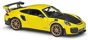Maisto 1/24 2018 Porsche 911 GT2 RS (Yellow)