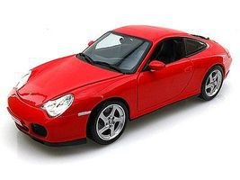 Maisto Porsche 911 Carrera 4S (Red) Diecast Model Car 1/18 Scale #31628red