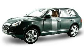 Maisto Porsche Cayenne Turbo 4-Door Wagon (Met. Green) Diecast Model Car 1/18 Scale #31634grn